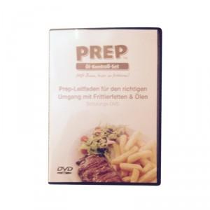 "PREP DVD – ""Prep-Leitfaden für den richtigen Umgang mit Frittierfetten & Ölen"""